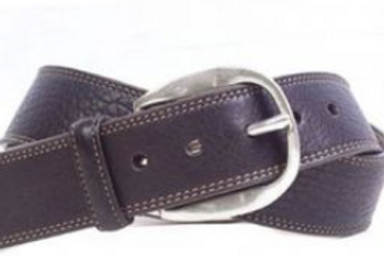 Martin Dingman William Authentic Bison Belt