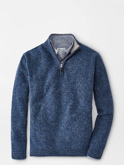 Peter Millar Donegal Quarter-Zip Sweater