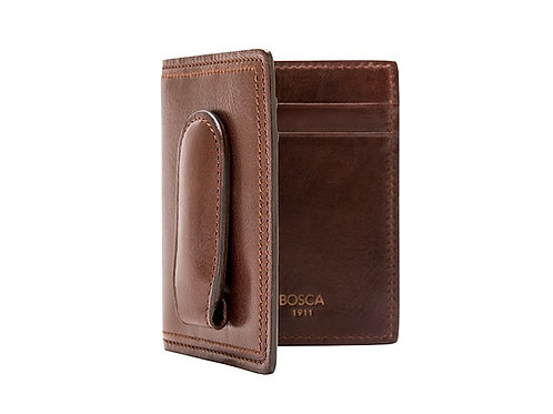 Bosca Front Pocket Wallet W / Magnetic Clip