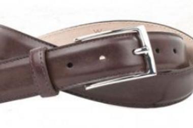 Martin Dingman Smith Coachman Leather Belt