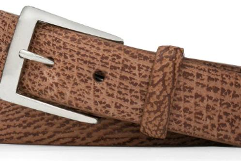 W. Kleinberg Shark Belt with Brushed Nickel Buckle