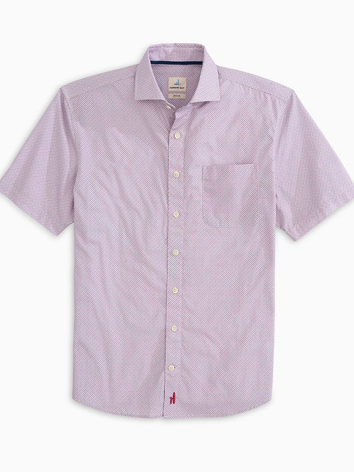 Johnnie-O Reading Hangin' Out Cut Away Collar Short Sleeve Shirt