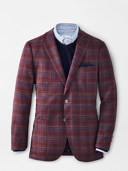 Peter Millar Autumn Plaid Soft Jacket