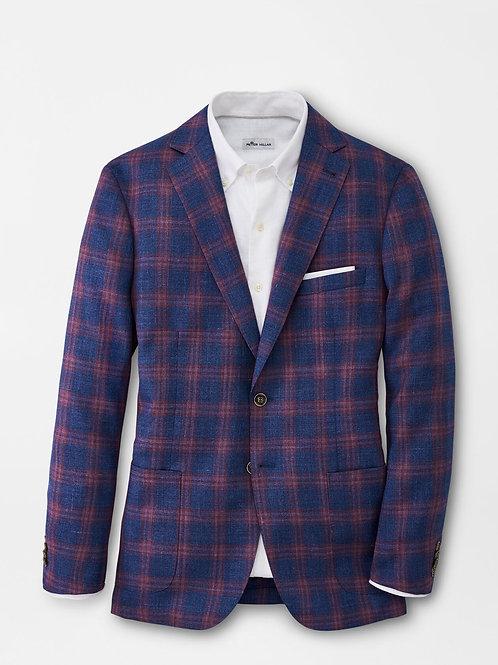 Peter Millar Classic Plaid Soft Jacket