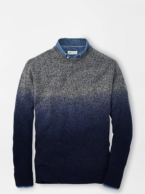 Peter Millar Dip-Dye Crewneck Sweater