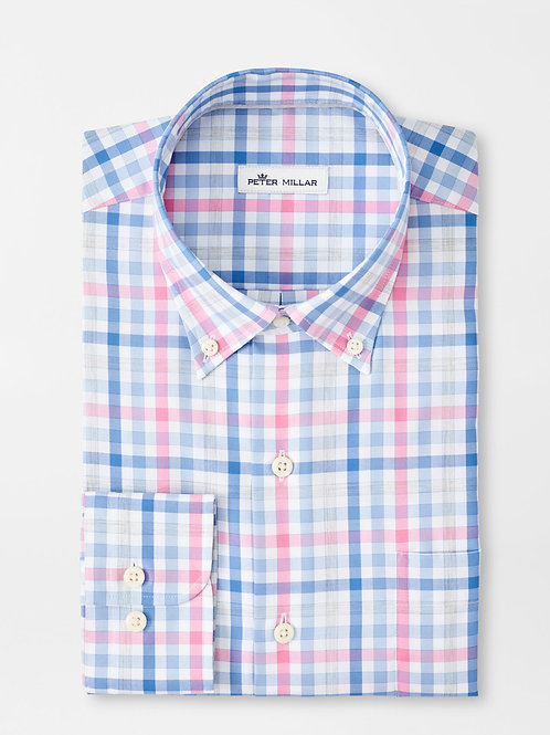 Peter Millar Wells Cotton Sport Shirt