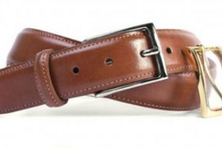Martin Dingman Smith Coachman Leather Belt