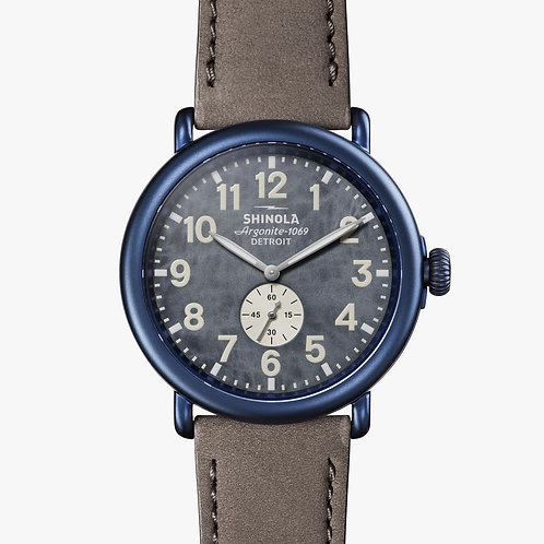 Shinola Runwell 47mm Blue Watercolor