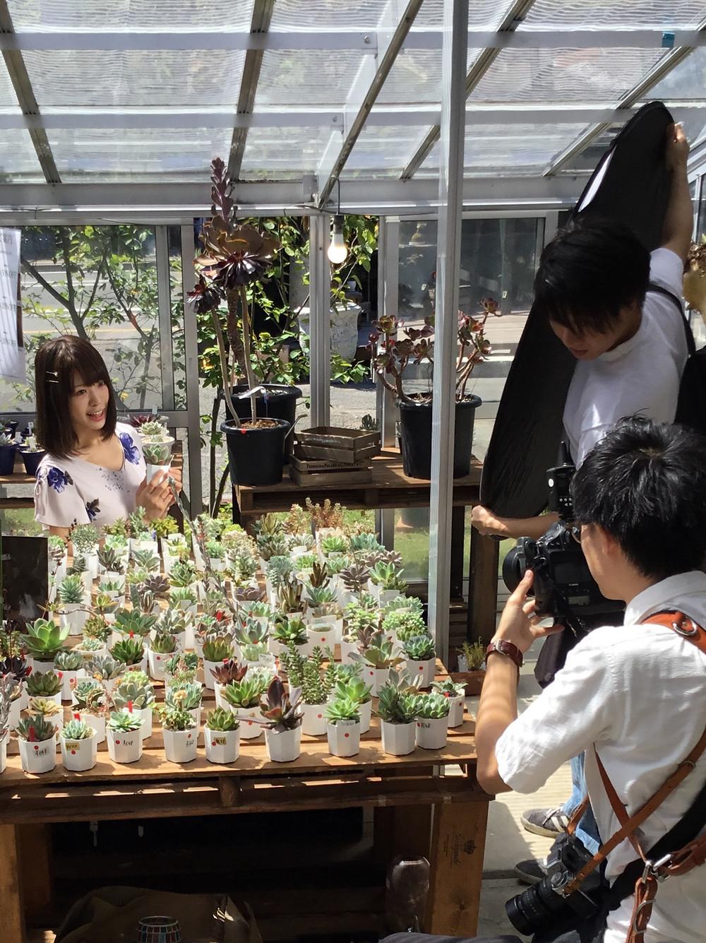 雑誌 長野Komachiさん 写真撮影