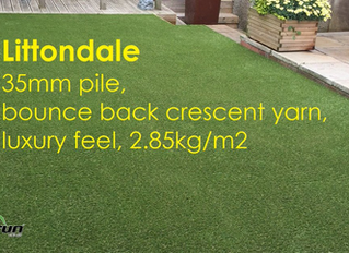 35mm pile luxury Artificial Grass
