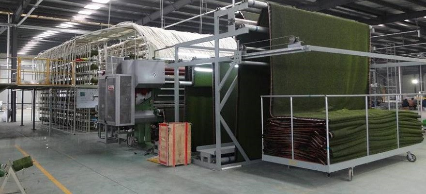 Our artificial grass factory