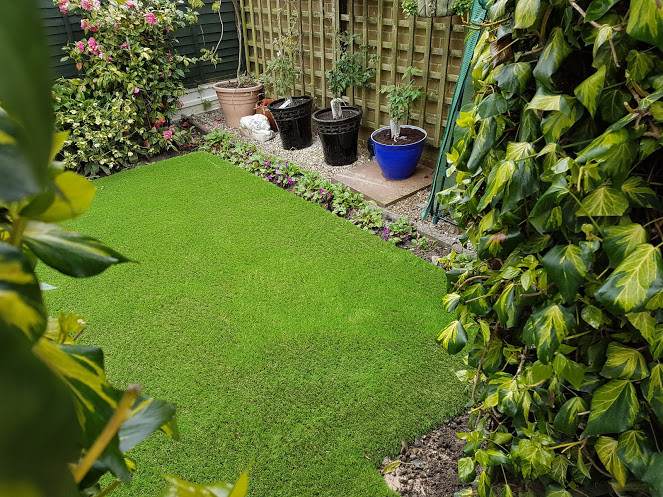 Artificial grass in Swinnow, Leeds