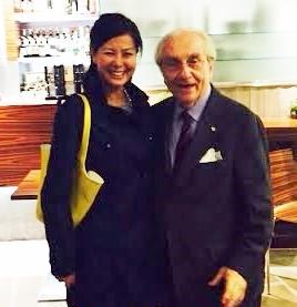 Con Maestro Gualtiero Marchesi