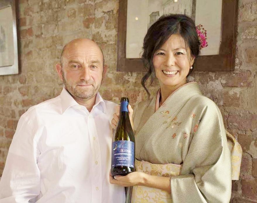 Con Maestro del vino Claudio Rosso