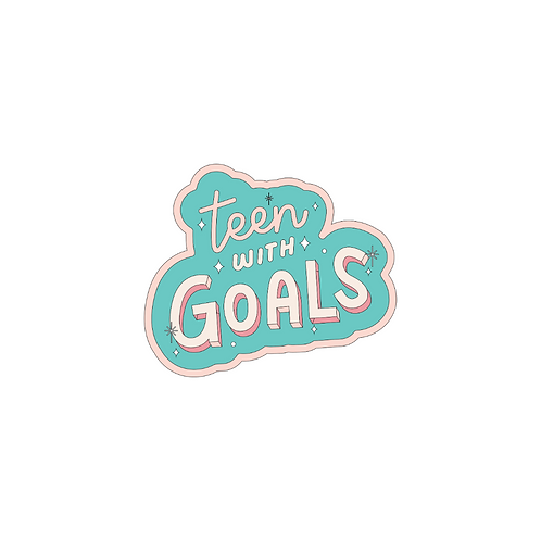 Teen With Goals Stickers
