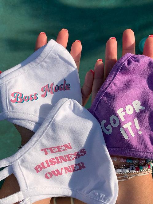 Teen Boss Babes Face Masks Collection #3