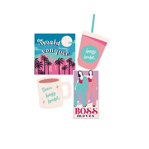 Teen Boss Babes Sticker Pack #3