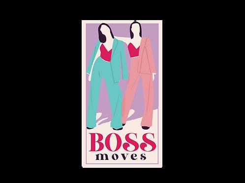 Boss Moves Sticker
