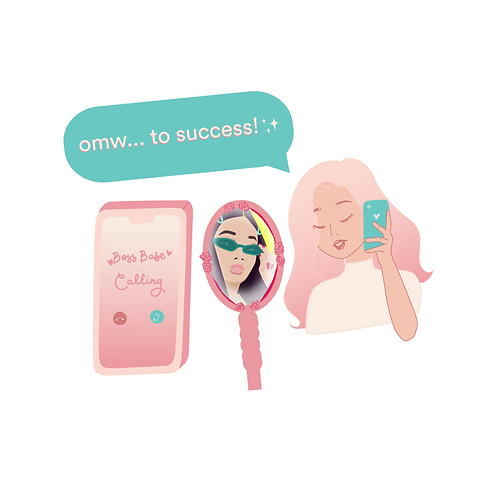 Teen Boss Babes Sticker Pack #4