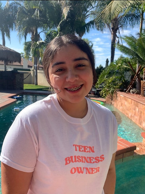 Teen Business Owner T-Shirt