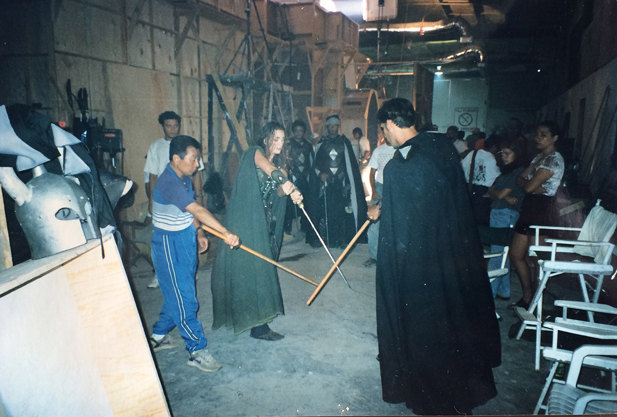 Sensei Yamazaki, Aly Dunne, Jonathon - Conan 1997/98
