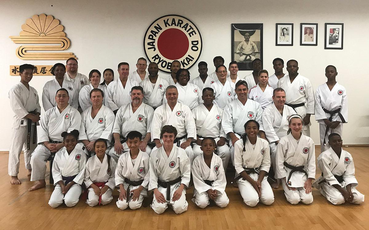 JKR International Winter Gasshuku December 2019: Sensei Kubby, Sensei Bill, Sensei Simon, Sensei Howard, Sensei Darrell, Sensei Jonathon, Sensei Paul, Sensei Nelson, Sensei amongst others.