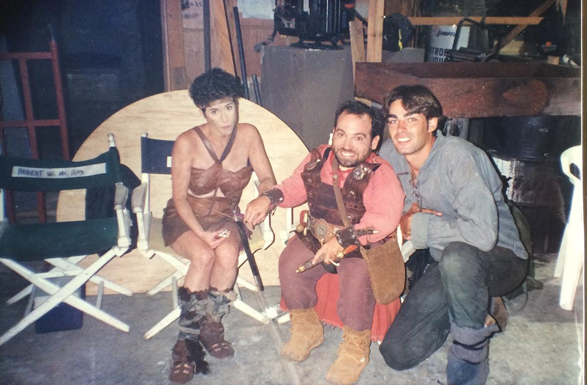 Amy Buchwald, Danny Woodburn, Jonathon - Conan 1997/98