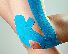 Kinesiology Tape at SCW