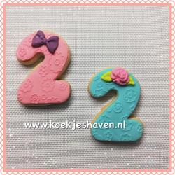 Cijfer koekjes