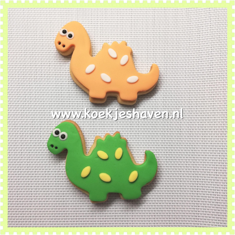 Dinosaurus koekjes 2