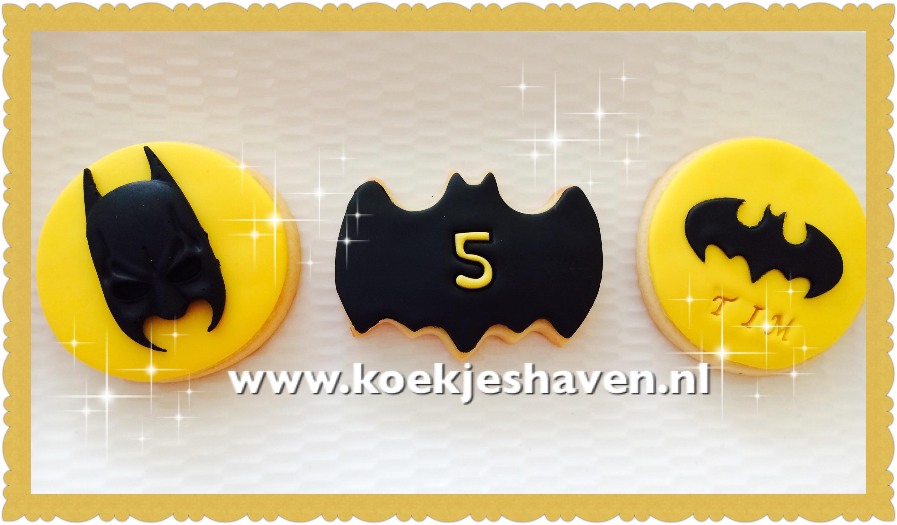 Batman Koekjes