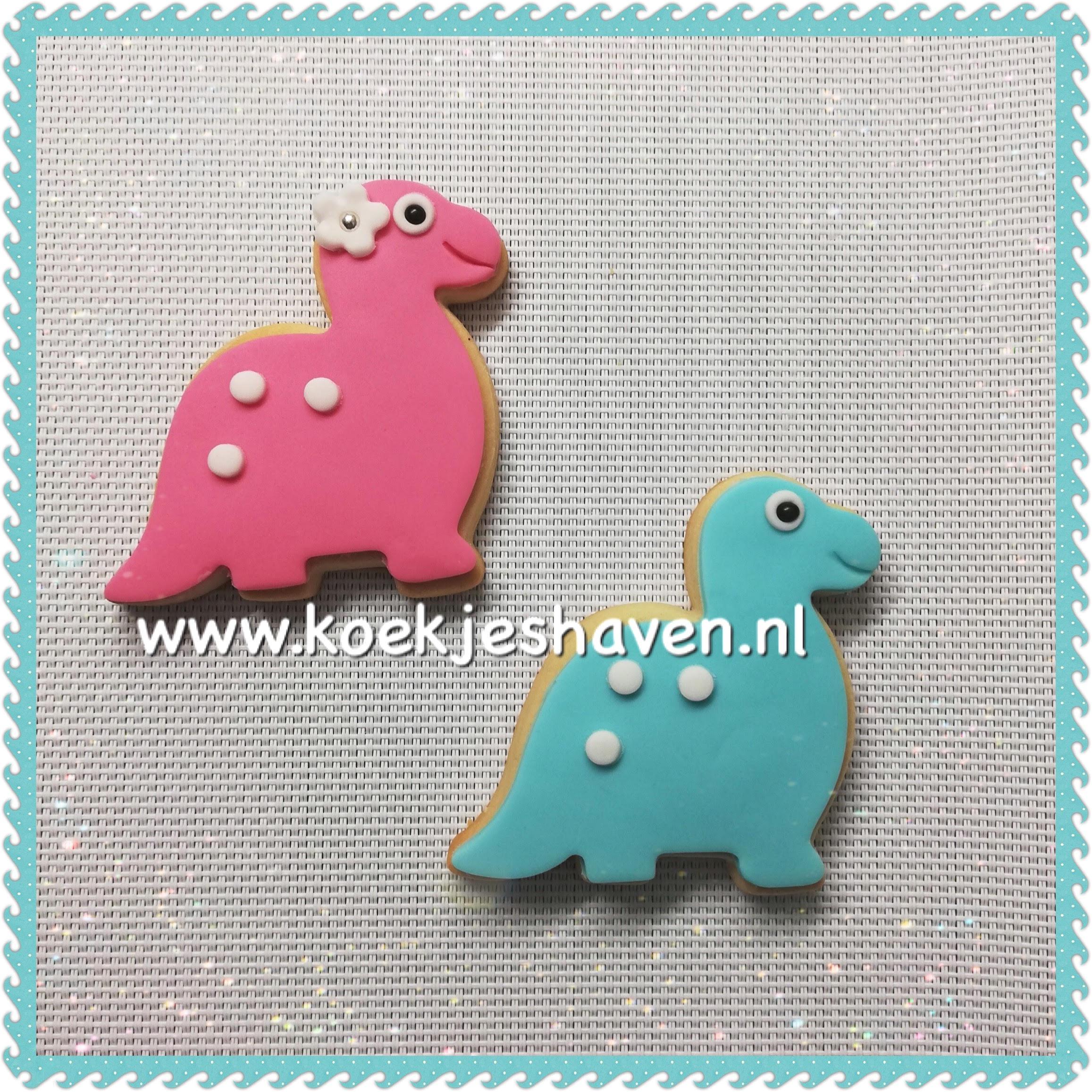 Dinosaurus koekjes 1