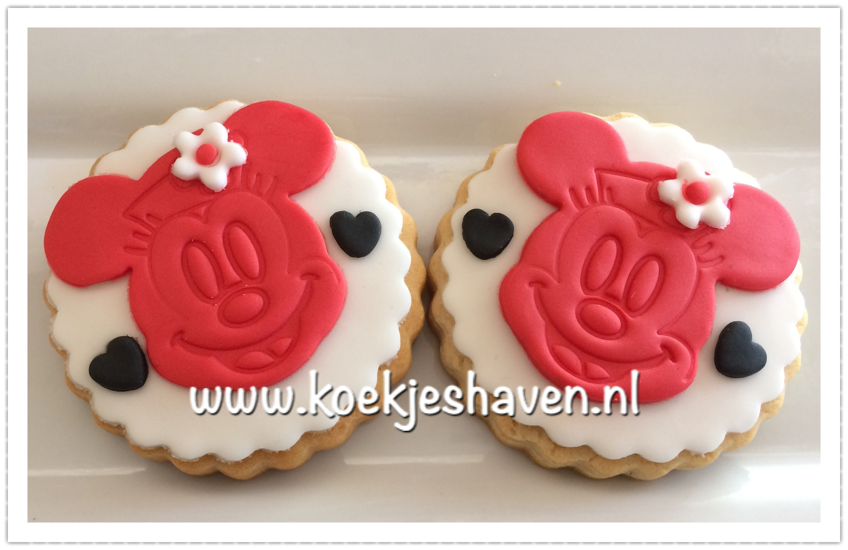 Minnie Mouse Koekjes