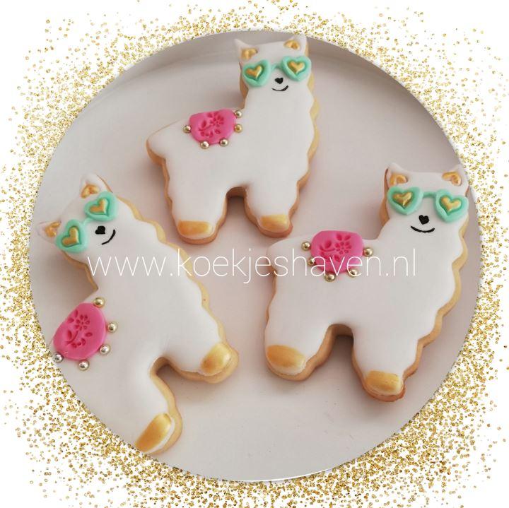 Lama / Alpaca koekjes