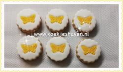 Minikoekjes - vlinder