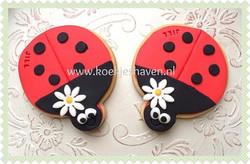 Lieveheersbeestje koekjes