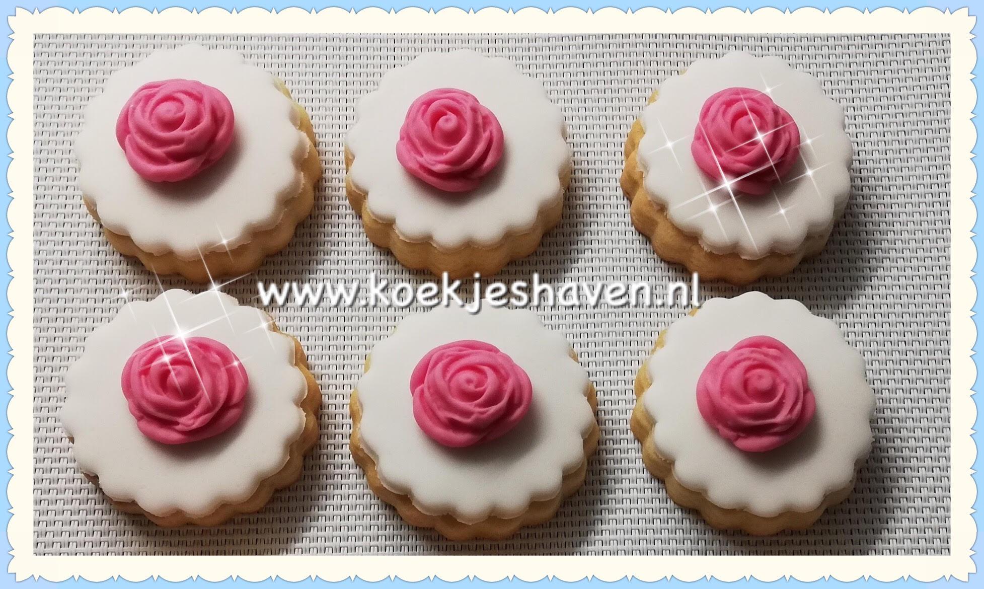 Minikoekjes - bloemen