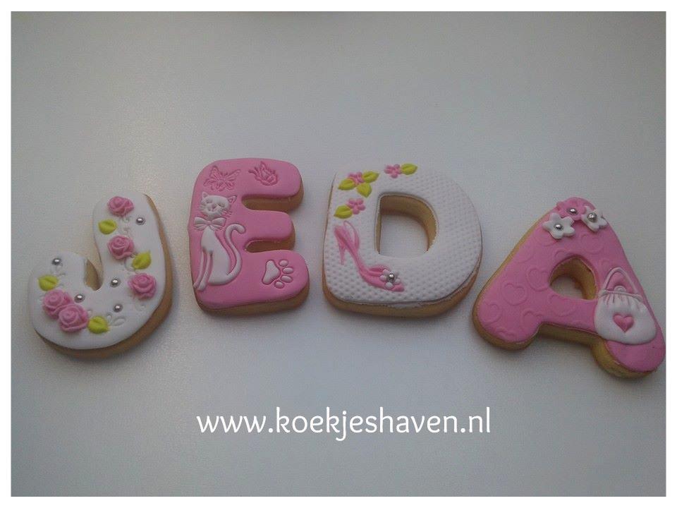 Letters koekjes