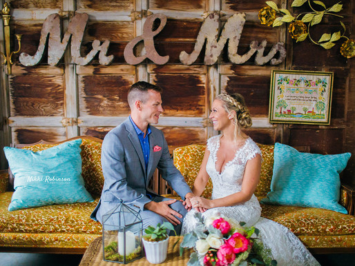 Kate + Marty | Everly at Railroad Wedding | Nikki Robinson Photography