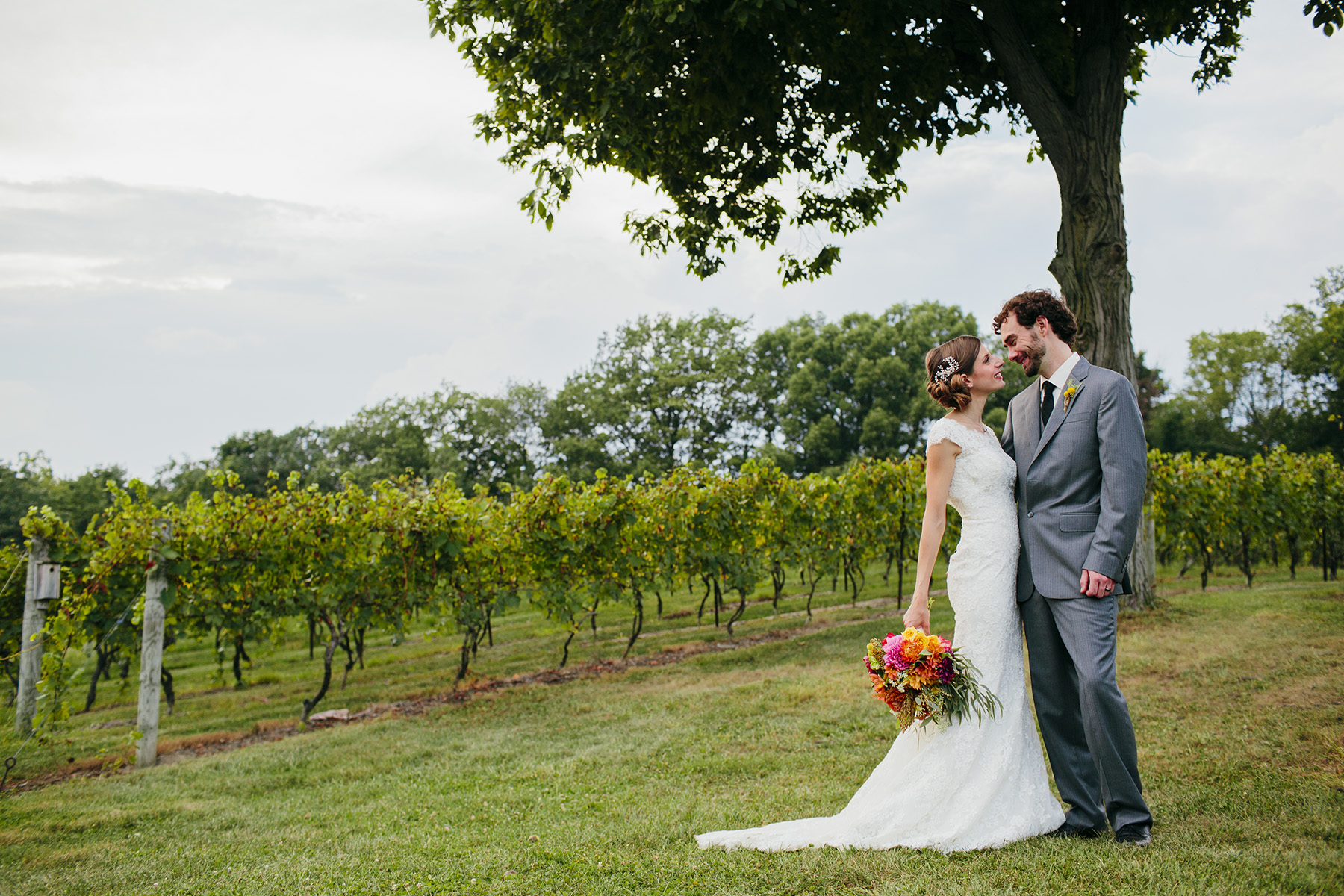Lehigh Valley Winery Wedding