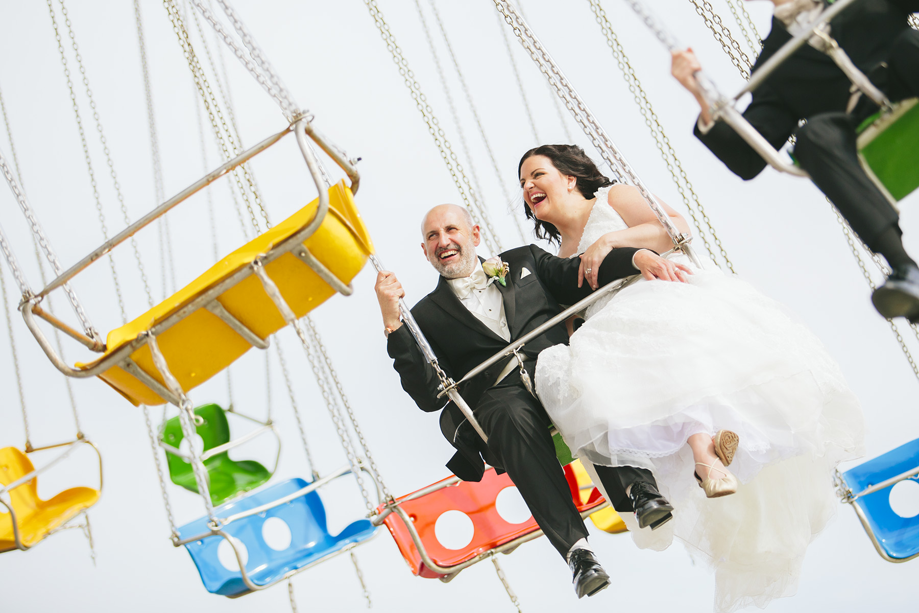 Steel Pier Wedding Photographer
