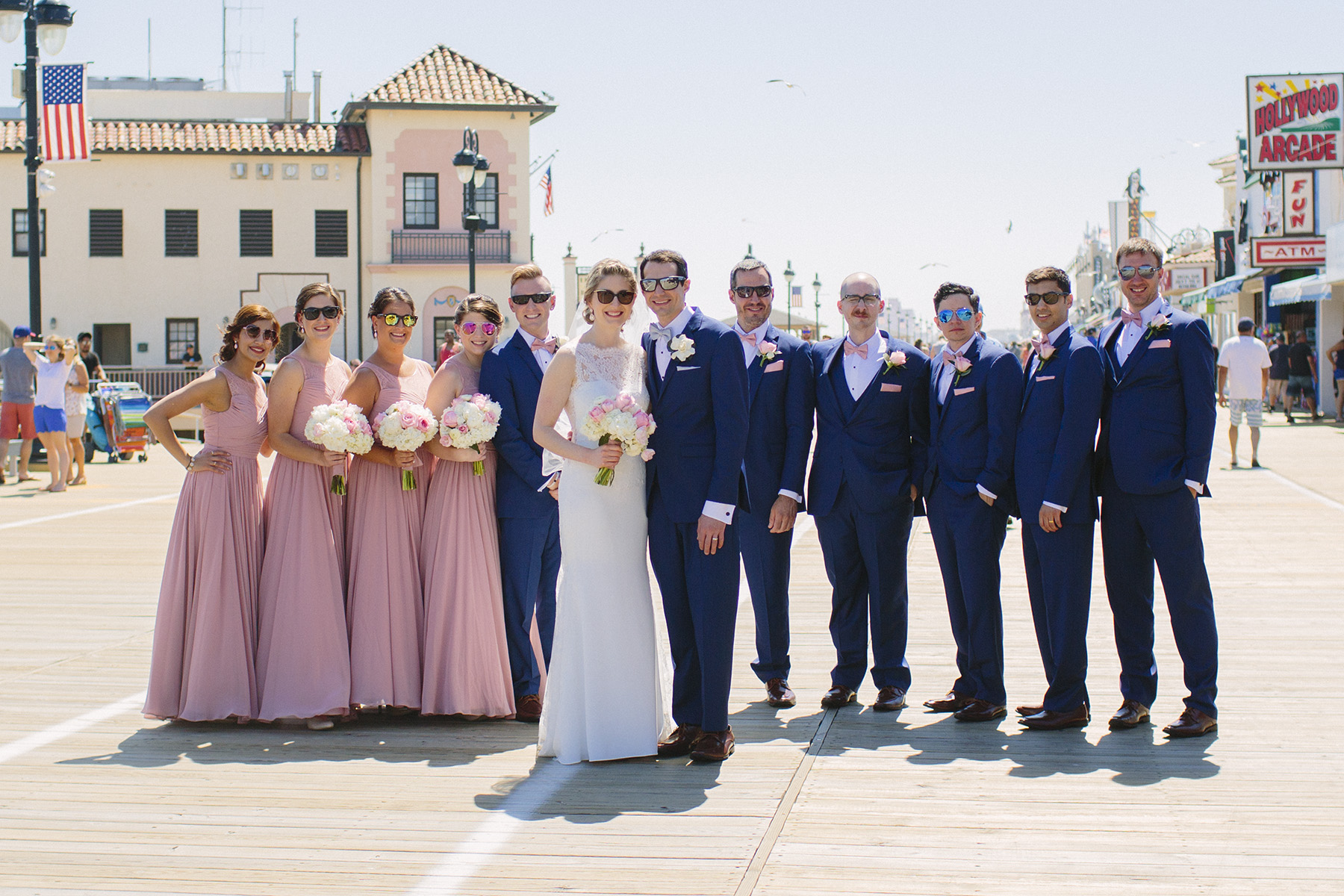 Ocean City Boardwalk Wedding
