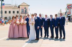 Ocean City Boardwalk Wedding