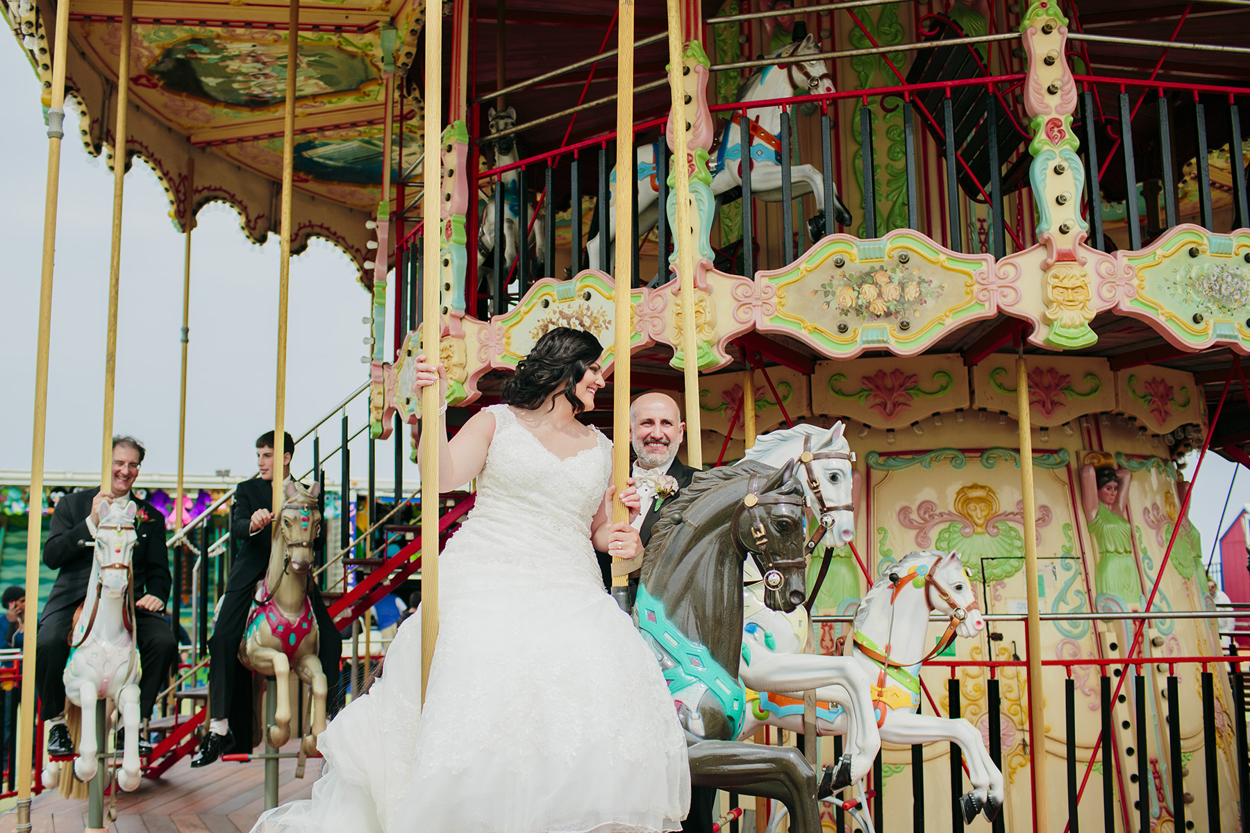 Steel Pier Wedding