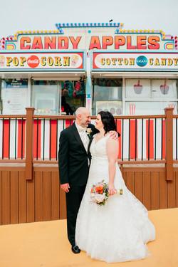 Steel Pier Wedding Photographer