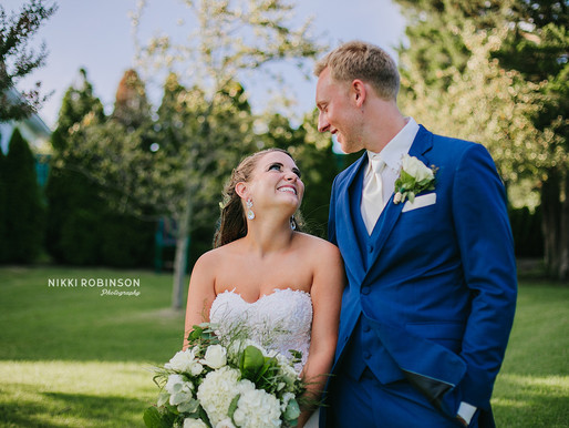 Allie + Stephen | Greate Bay Country Club Wedding | Nikki Robinson Photography