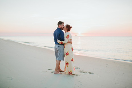 Sunset Beach Cape May Engagement Session