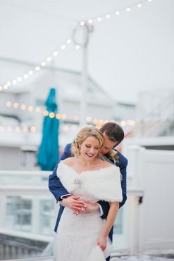 The Reeds Stone Harbor Wedding Photo