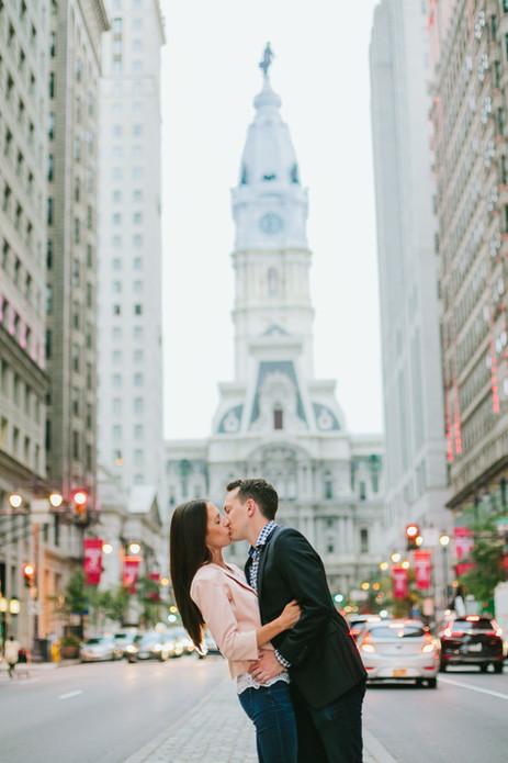 Center City Philadelphia Engagement Session