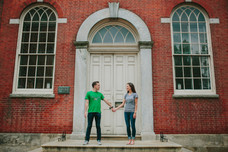 Independence Hall Philadelphia Engagement Session
